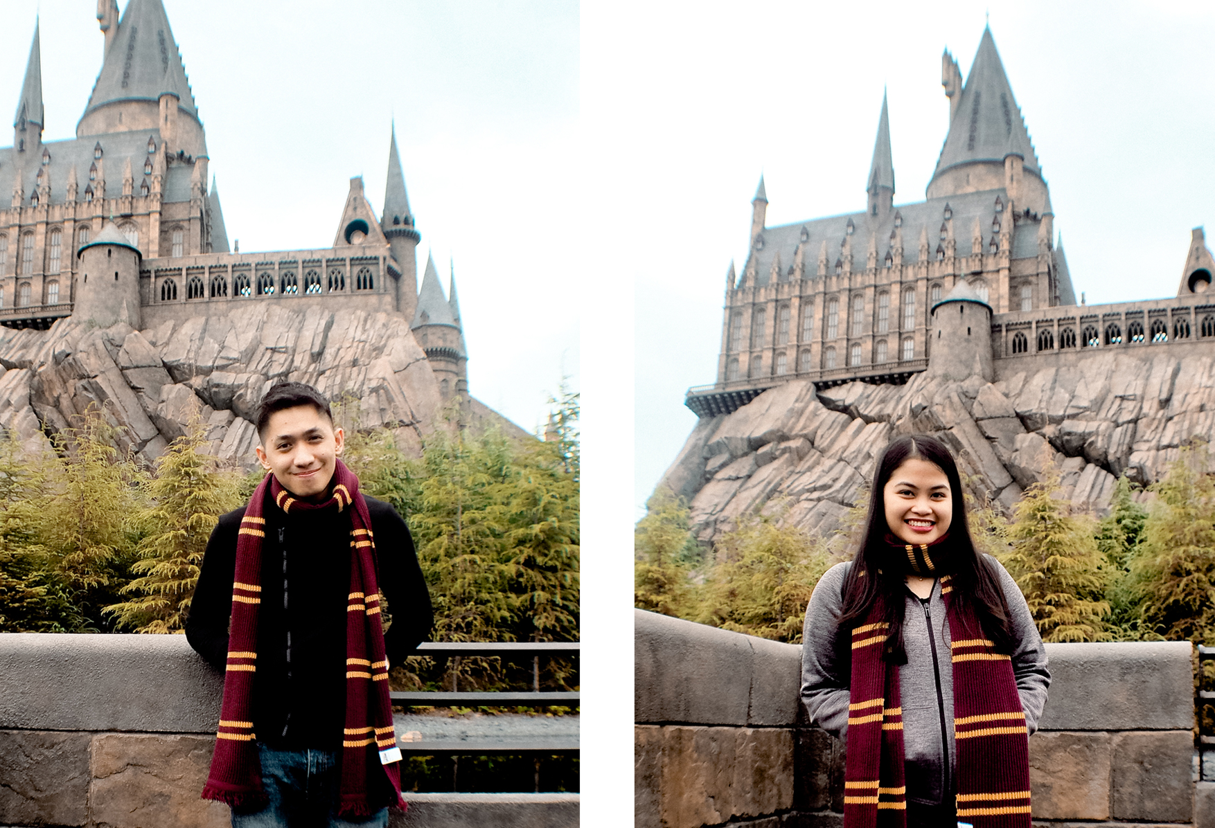 Of course, we had our photo with Hogwarts Castle as our backdrop!