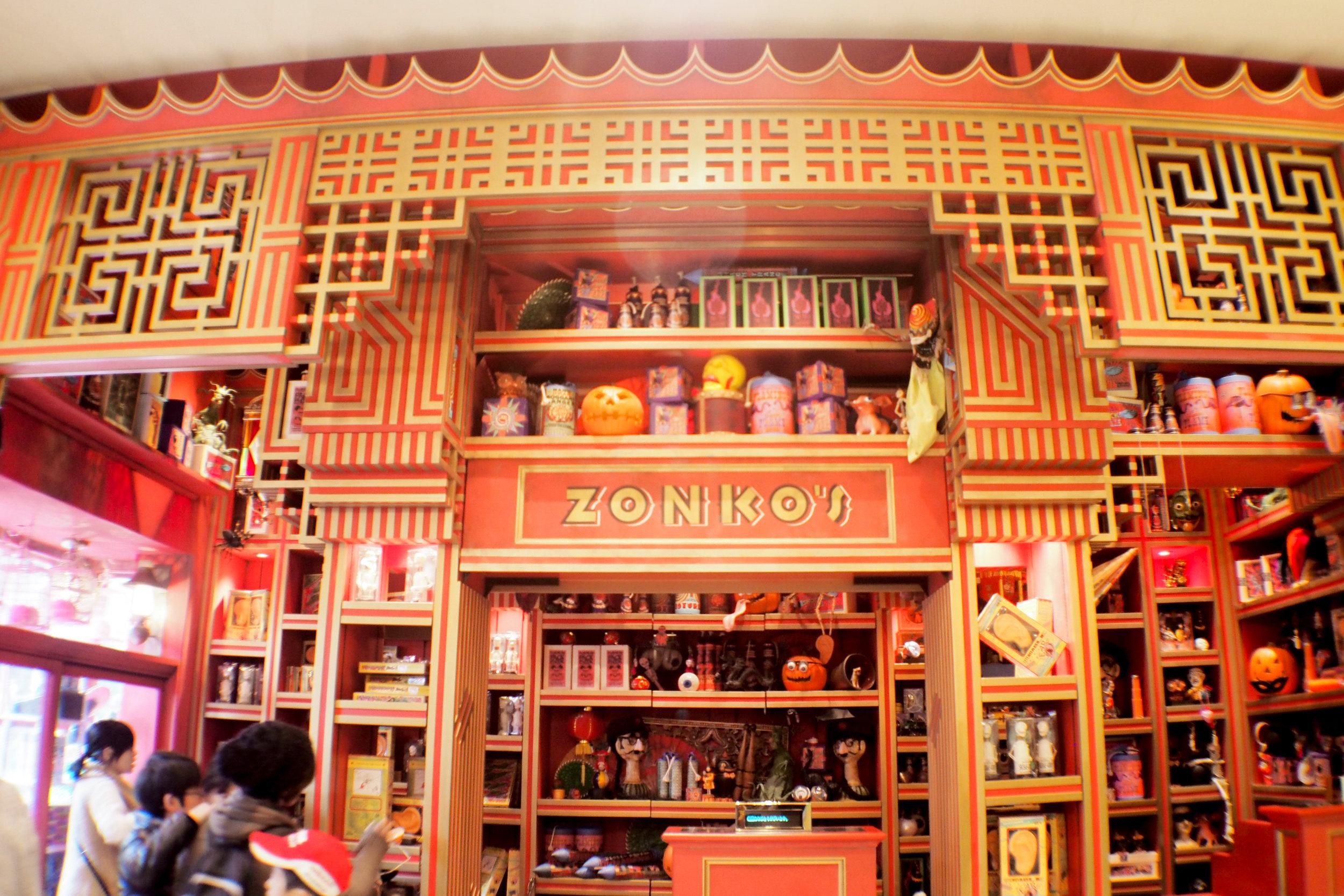 Zonko's Joke Shop!