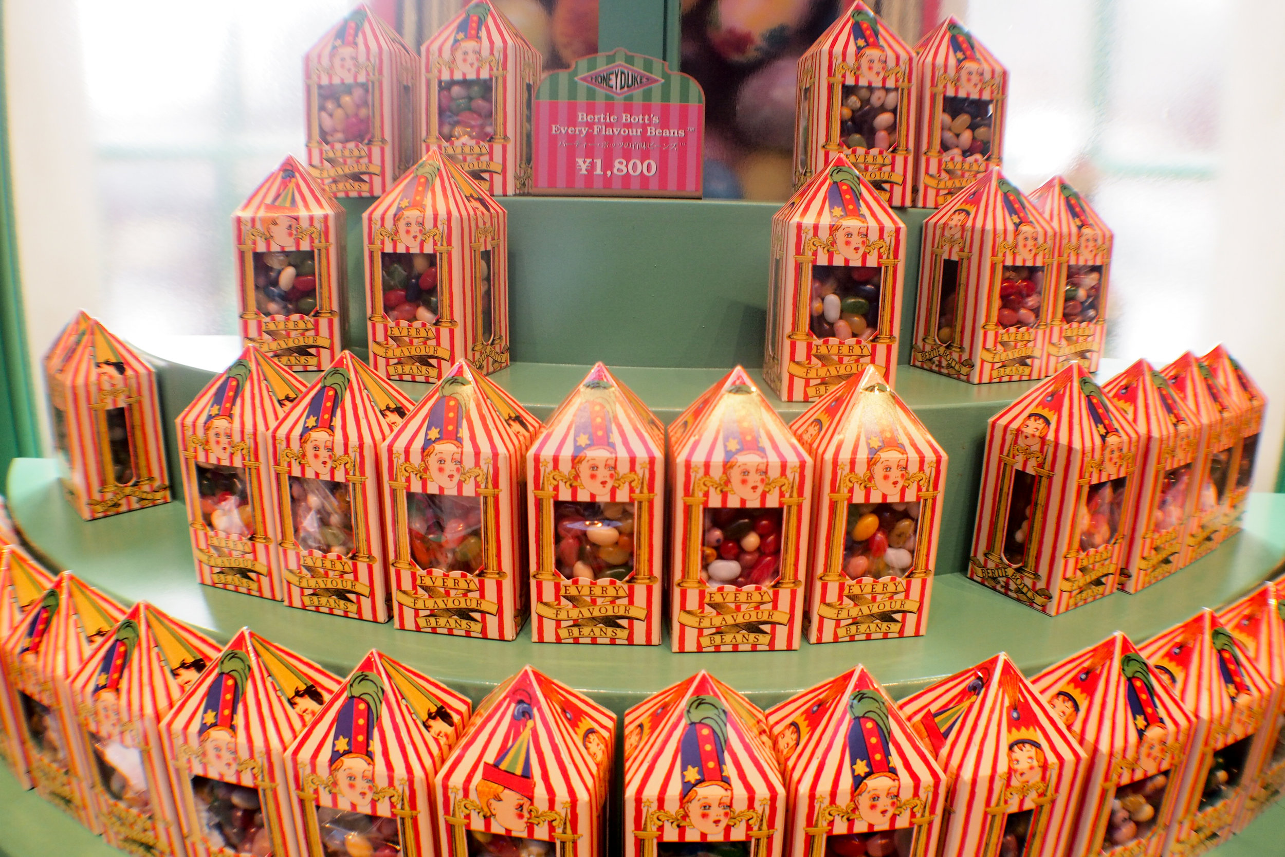 Bertie Bott's Every Flavour Beans! When they say every flavour, they mean every flavour.