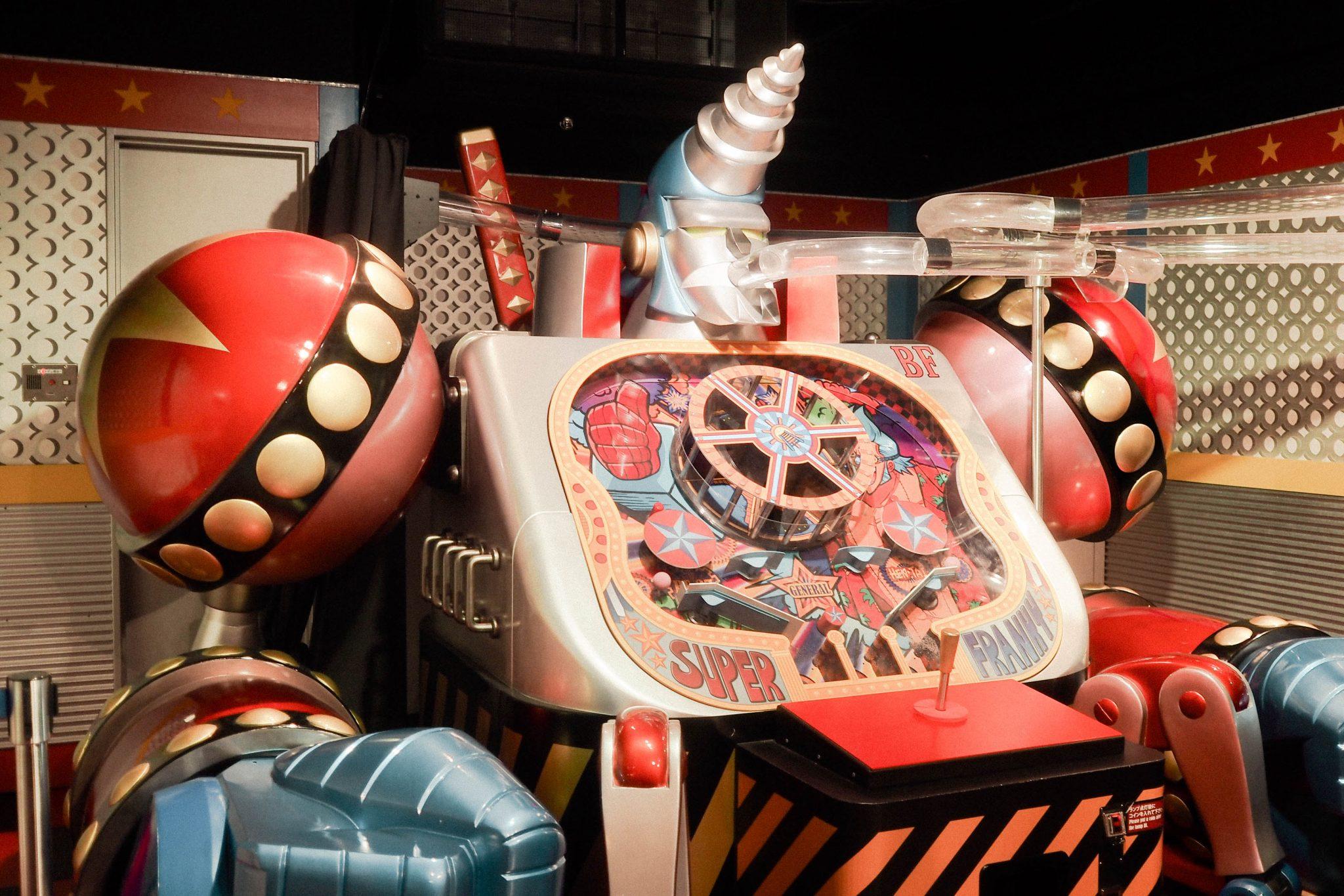 Franky's version of a pinball machine