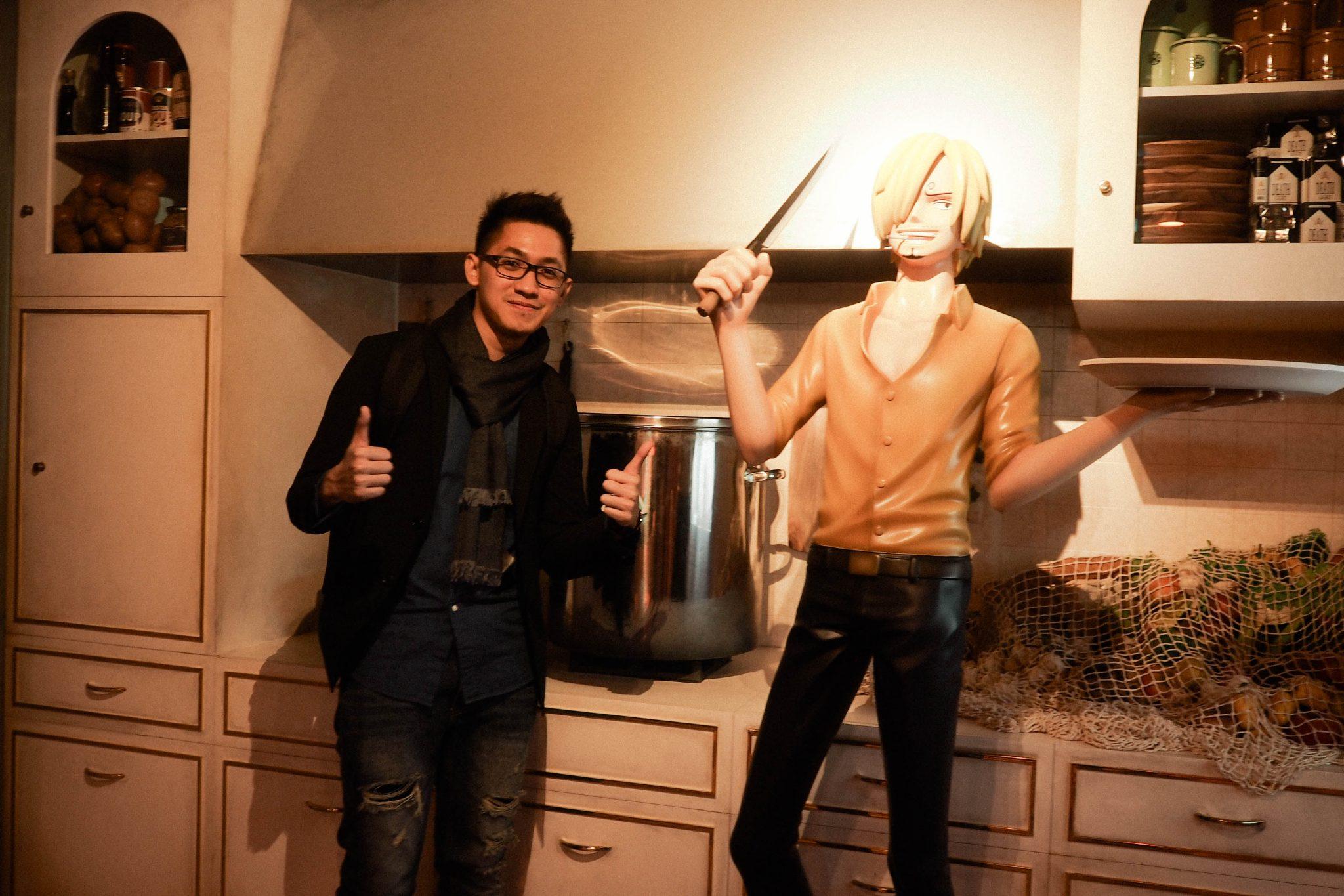 Sanji's kitchen inside the A Thousand Sunny