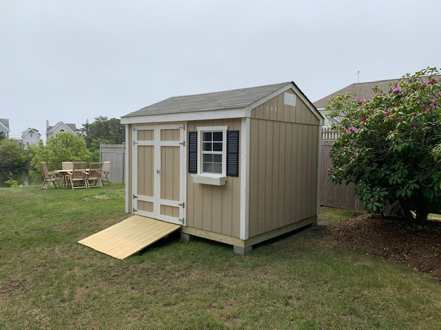 Garden Shed smart siding (accessories are additional)