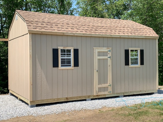 Classic Shed smart siding