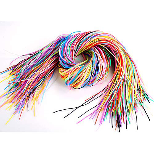 Scoubi string is perfect for little fingers to bead with.