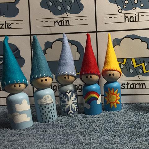 Weather Peg Dolls -