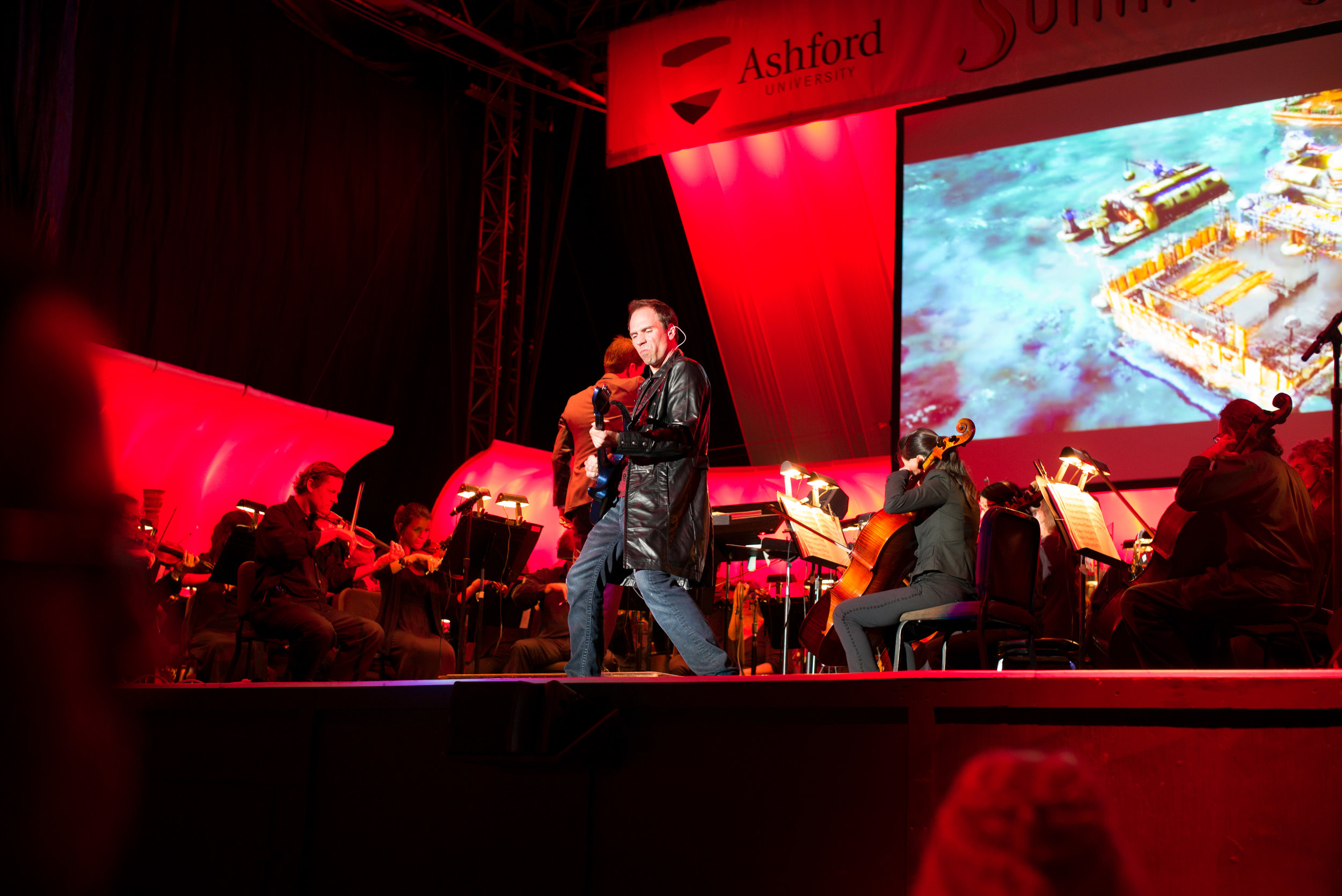 Performing at Video Games Live
