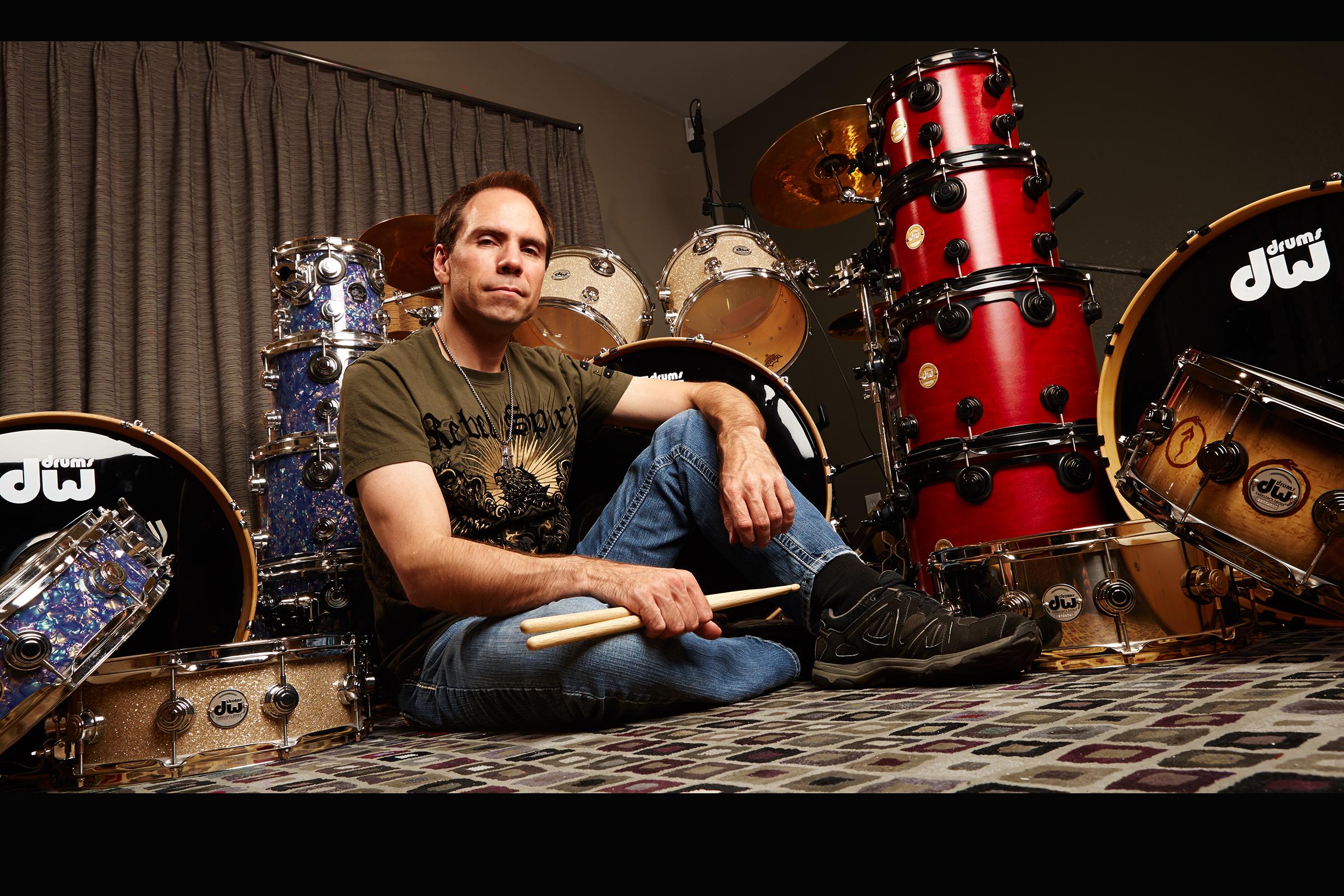 Shreddage Drums VST sessions for Impact Soundworks - Arsenal of Drum Workshop Inc. (DW Drums) Kits!