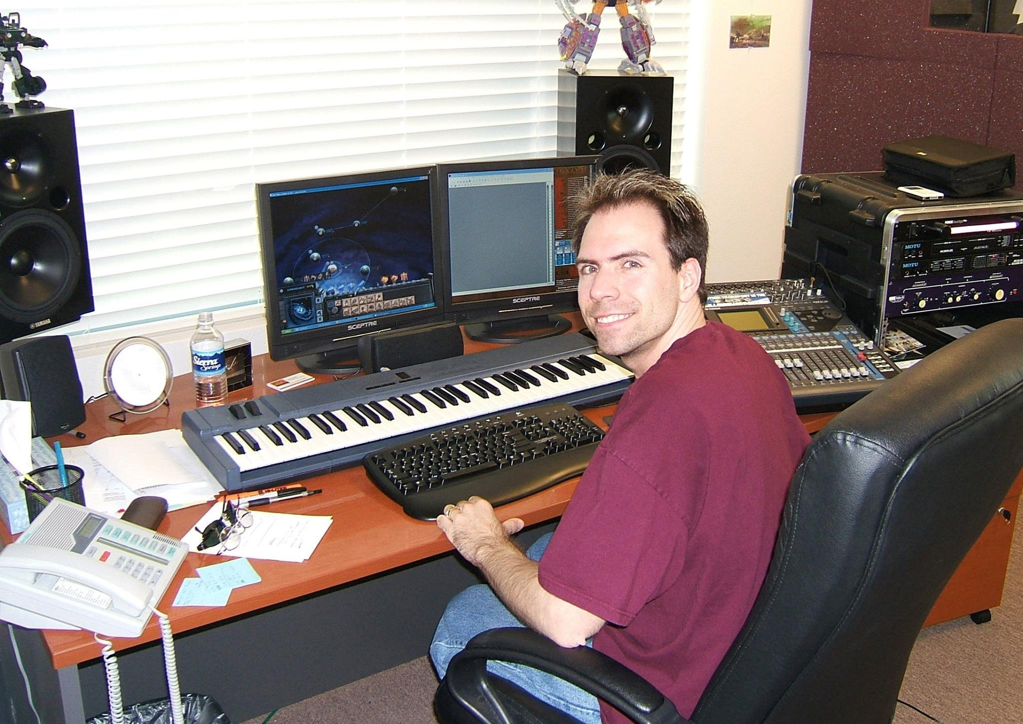 My old office at Petroglyph in 2005, working on Star Wars: Empire at War