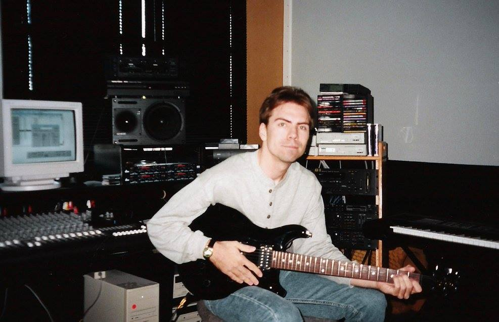 My old office at Westwood in 2000 - finishing the music for C&C: Tiberian Sun: Firestorm