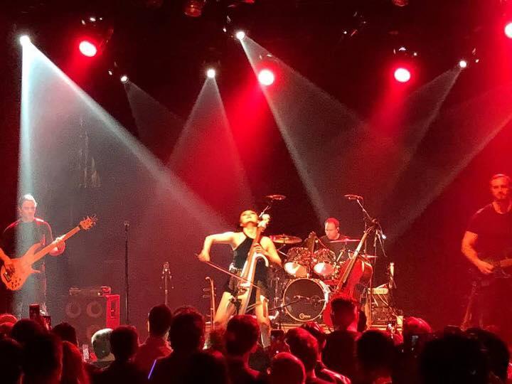 Great crowd at the El Rey show with Tina Guo, John Huldt, and Kfir Melamed