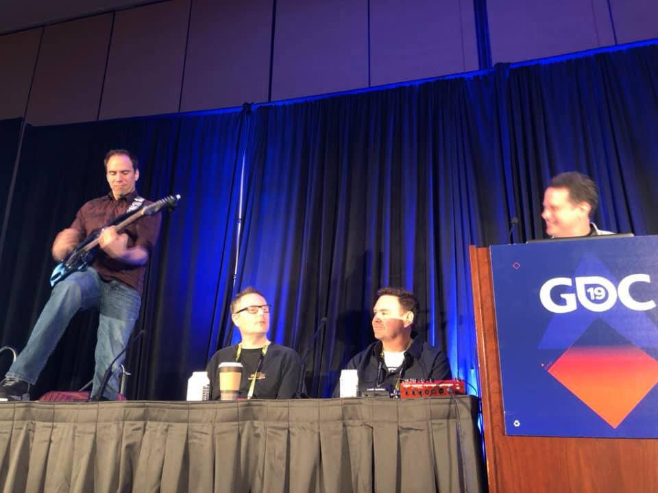 Rocked the GDC panel on C&C with Louis Castle, Steve Wetherill, & Eric Yeo!