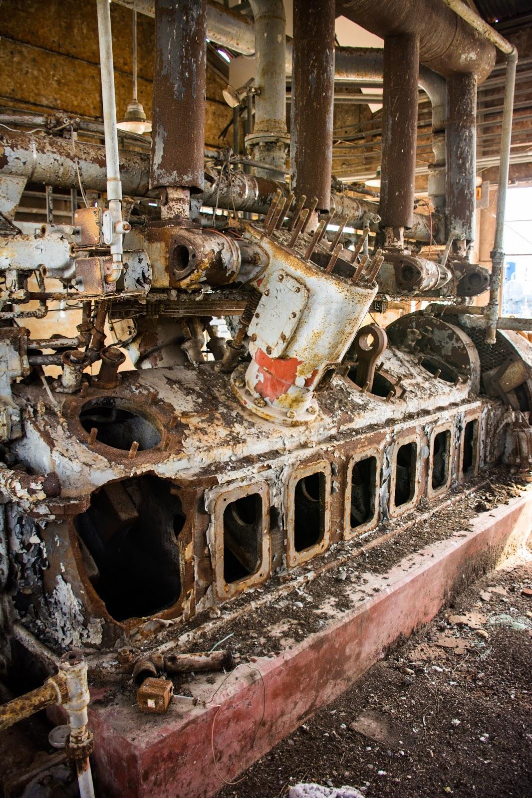 Abandoned Gas Plant