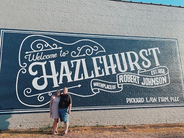 My proudest creative collaboration. ❤ Me and my dad with help from @princesignco making good things happen in #hazlehurstmiss. . . . . #publicart #streetartistry #mural #muralart #smalltown #smallbusiness #hazlehurstms #iliveinlaurel #creative #muralpainting #smallbiz #streetart_daily #mississippi #smallbusinessowner #murals #muralsdaily #blues #robertjohnson #wallpainting #branding #hazlehurstmississippi #bluesmusic #createeveryday #creativelife #creativelifehappylife #creativityfound #americanblues #bluesmusic #makersmovement