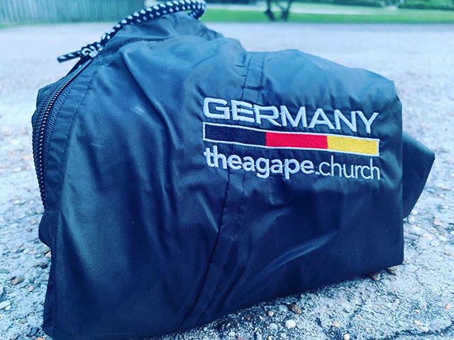We aren't going to let it rain on our parade, but if it does, we are prepared! We are as ready as we can get, and we are covered in prayer by so many. Thanks to everyone praying, everyone who gave and those who have encouraged us along the way. Let's do this. 👊🏻🇺🇸 to 🇩🇪 #july4th