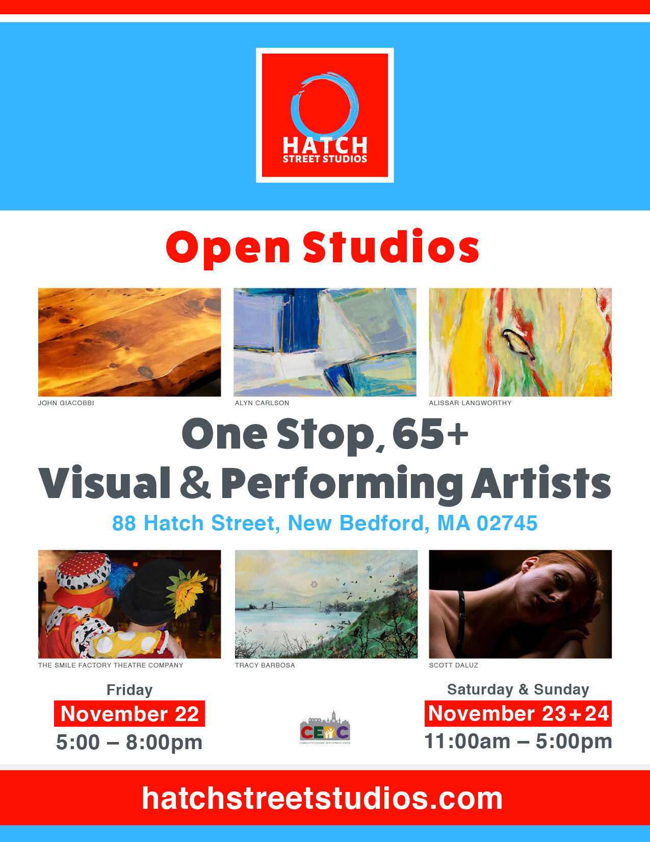 Open Hatch Studios Holiday Sale Hatch Street Studios New Bedford S Largest Community Of Visual Performing Artists