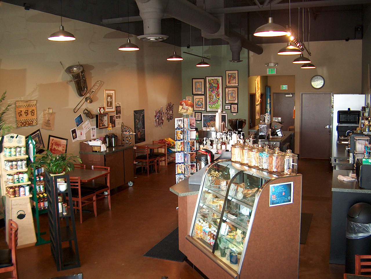 Jazzy Bean Coffee House Front Area.JPG