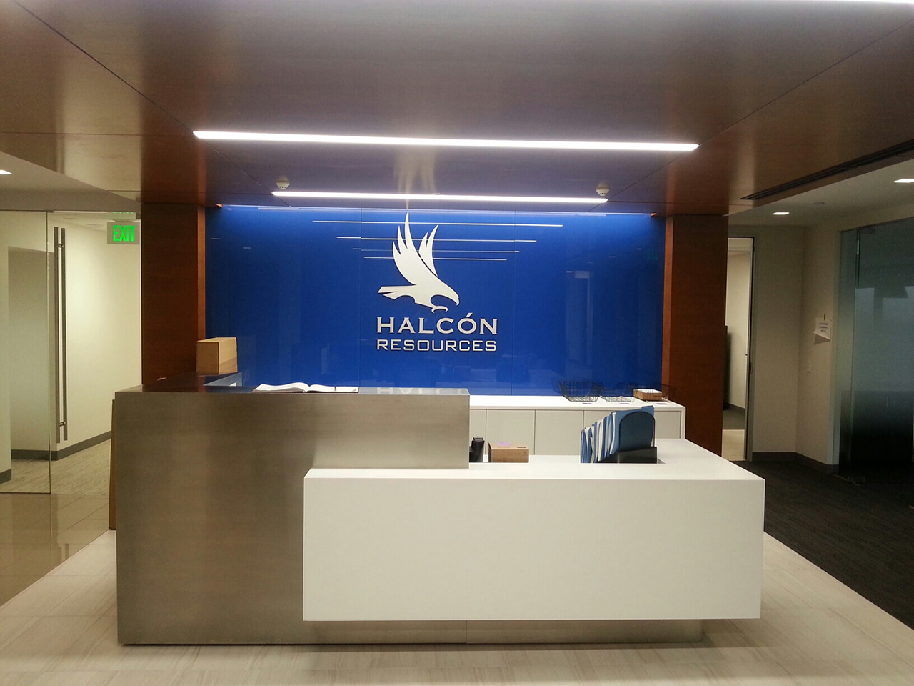 Halcon Resources Reception Desk.jpeg