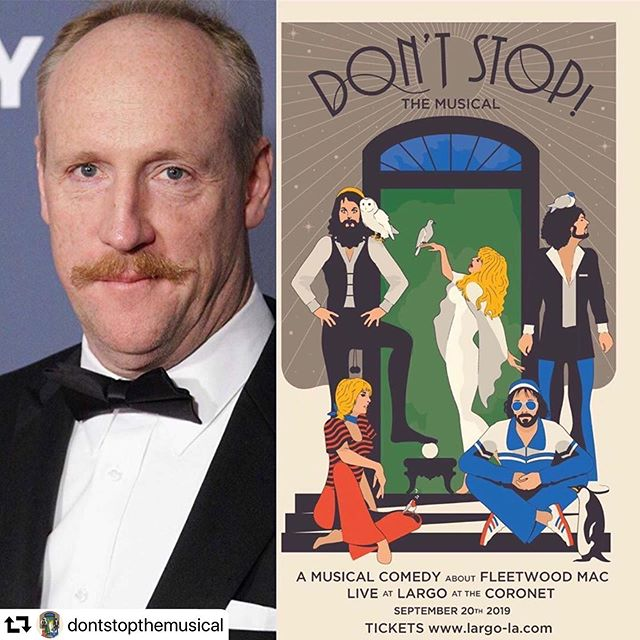 Friday night. @mrmattwalsh joins the cast for a night of musical excitement and #borschtbelt yuck yucks courtesy of @taylorlockemusic in the role of @lindseybuckingham. Here you go @mrgiuntoli. Ticket link in bio. Show starts at 8 @largolosangeles