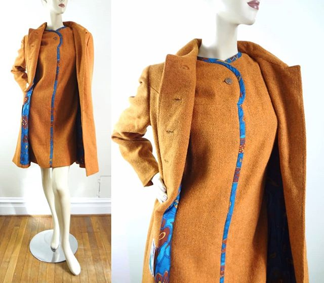 NEW | 60s Vera Maxwell Dress Set M | 1960s Mod Brown Wool A Line Dress & Jacket Set | $428 ⠀⠀⠀⠀⠀⠀⠀⠀⠀ Impeccable quality & style.  Check out this MOD dress set by designer Vera Maxwell just listed in the shop.  It's absolutely lovely :) ⠀⠀⠀⠀⠀⠀⠀⠀⠀ #fashiongram #lookbook #photooftheday  #realoutfitgram #fashiondiaries #outfitdetails #whattowear #dailyfashion #thehappynow #thatsdarling #ootd #whatiwore #lookoftheday #igstyle  #vintageclothing  #streetstyle  #styleinspo  #shopoholics #shoppingday #fashionaddicts #currentlywearing #fallootd #fallstyle #fallfashion #vintage #isabellasvintage #VeraMaxwell #designerfashion #1960s #60sfashion