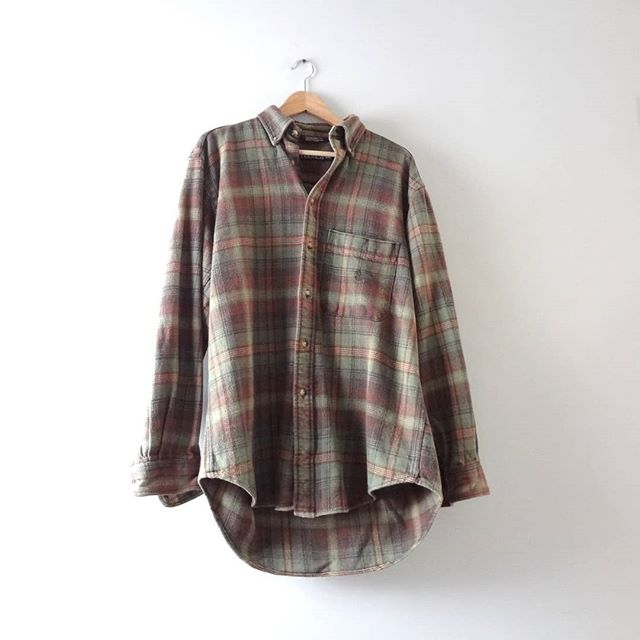 Had to share the latest Men's Vintage in the #etsy shop:  NEW | Vintage Flannel Shirt L | 1990s Nautica Green Brown Plaid Cotton Flannel Shirt | $28  #clothing #shirt #green #brown #brownflannelshirt #greenflannelshirt #grungeflannel #vintageflannel #mensvintage #fall2018 #menswear #vintage #plaidflannel #plaid #90s #1990s #90sflannel #vintagemenswear #welovefall #fallweather #fall #fallstyle