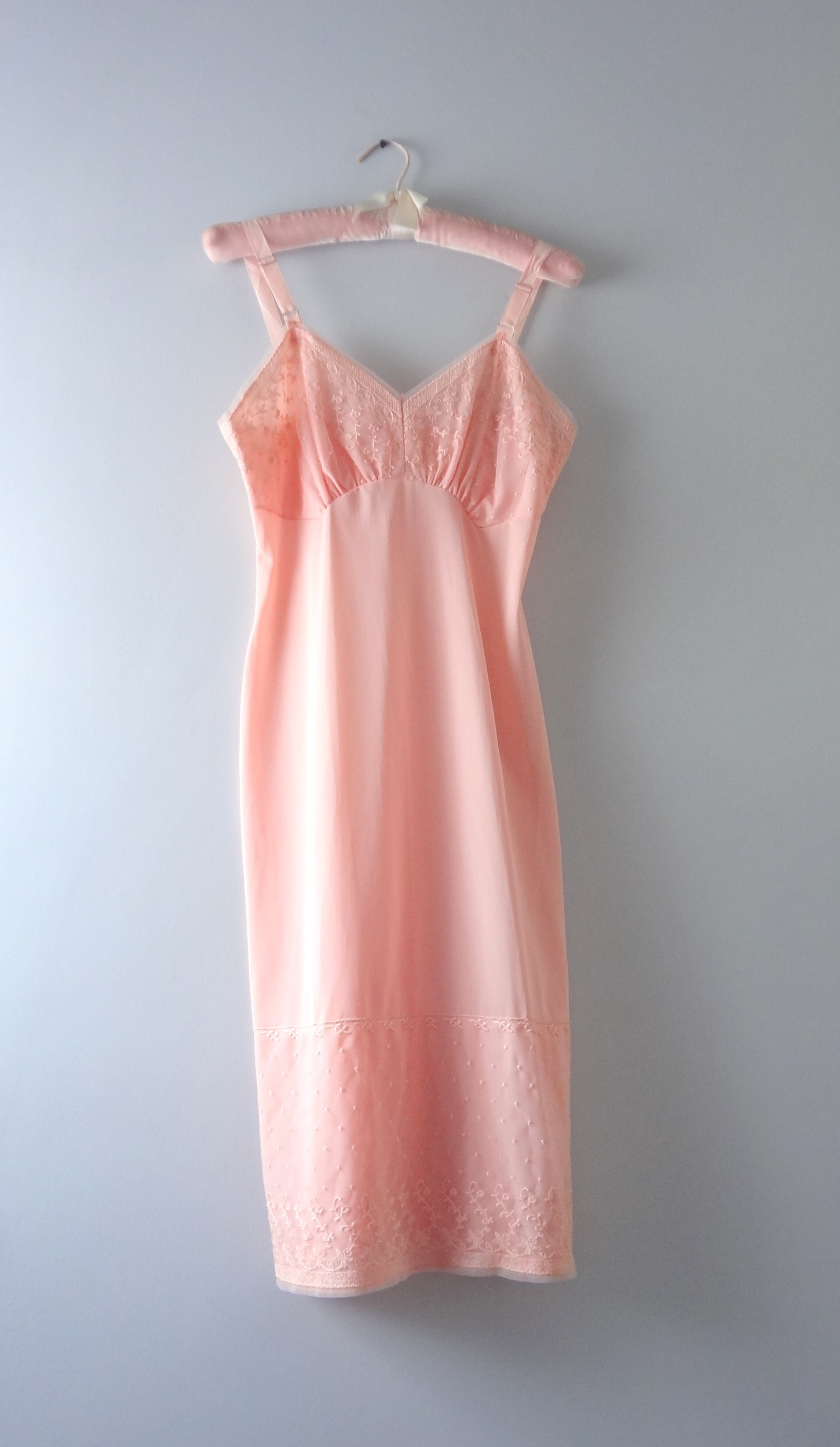 1950s Apricot Slip Dress Deadstock | Vintage Slip Shop $148