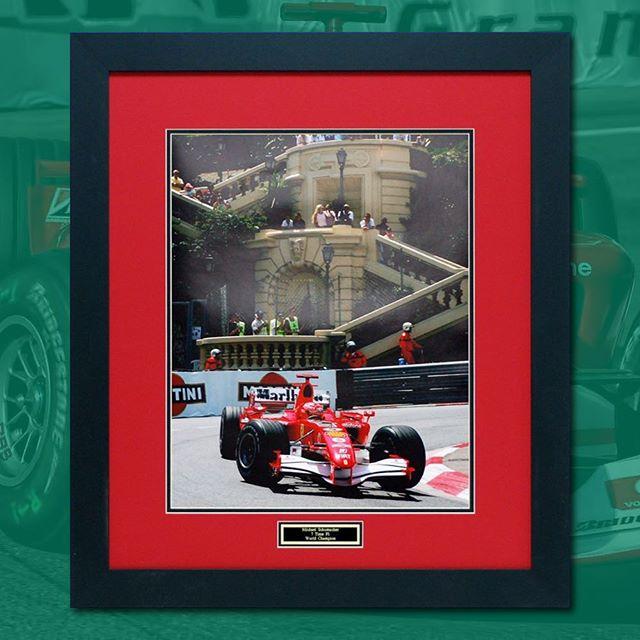 Michael Schumacher 🏎 26 x 32 in.