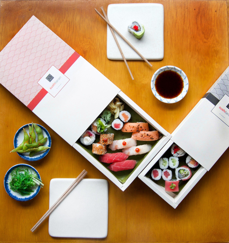 la cata de sushi a domicilio -