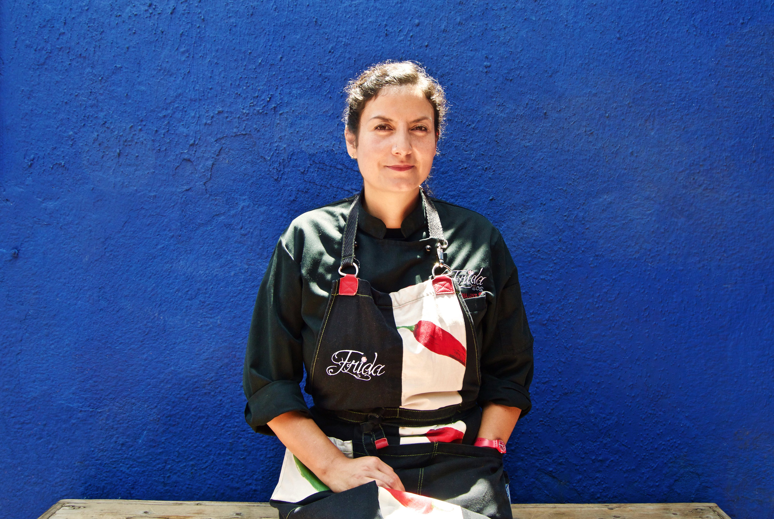 Ana María López. Fotografía por Abril Macías.