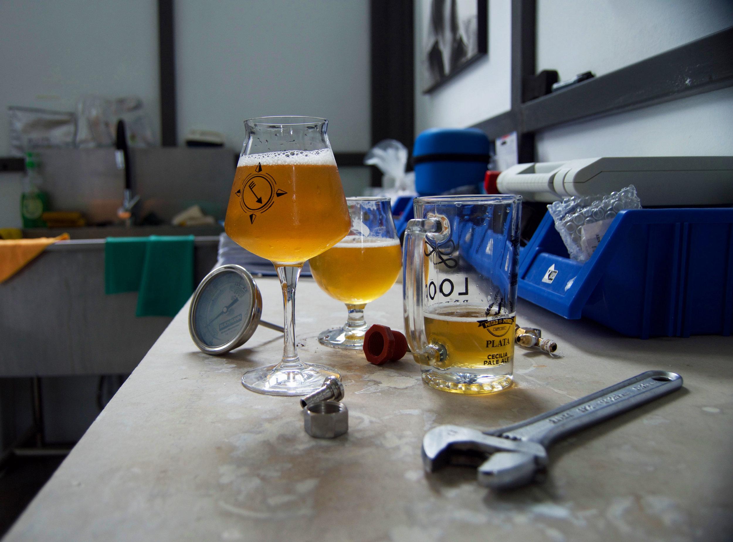 Sus cervezas -