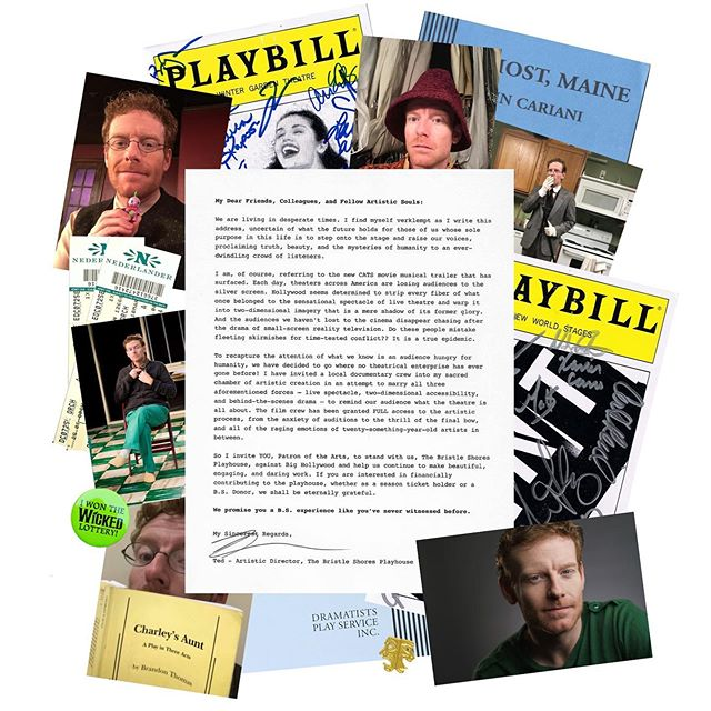 """An open letter from Ted, the Artistic Director of the Bristle Shores Playhouse. Visit our website to learn more about his """"artistic mission."""" #webseries #comedy #theaterkids #playbill #womenincomedy #womeninfilm #behindthescenes #theatergeek #thisisbstheseries"""