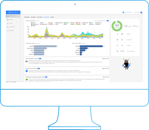 Fully managed data consolidation tool