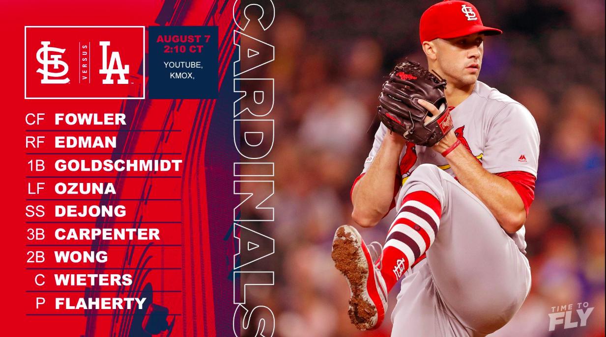 Cardinals lineup.