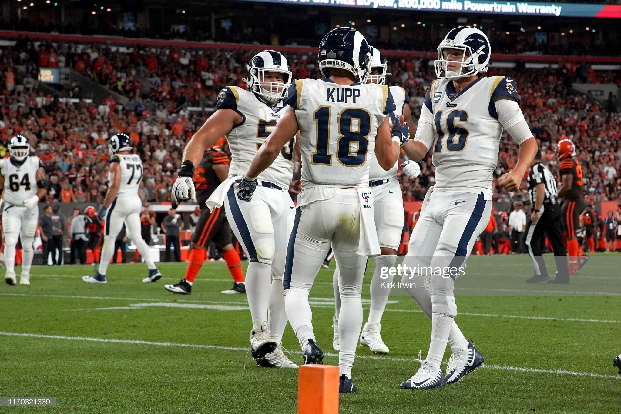 Cooper Kupp with his first touchdown since last season.