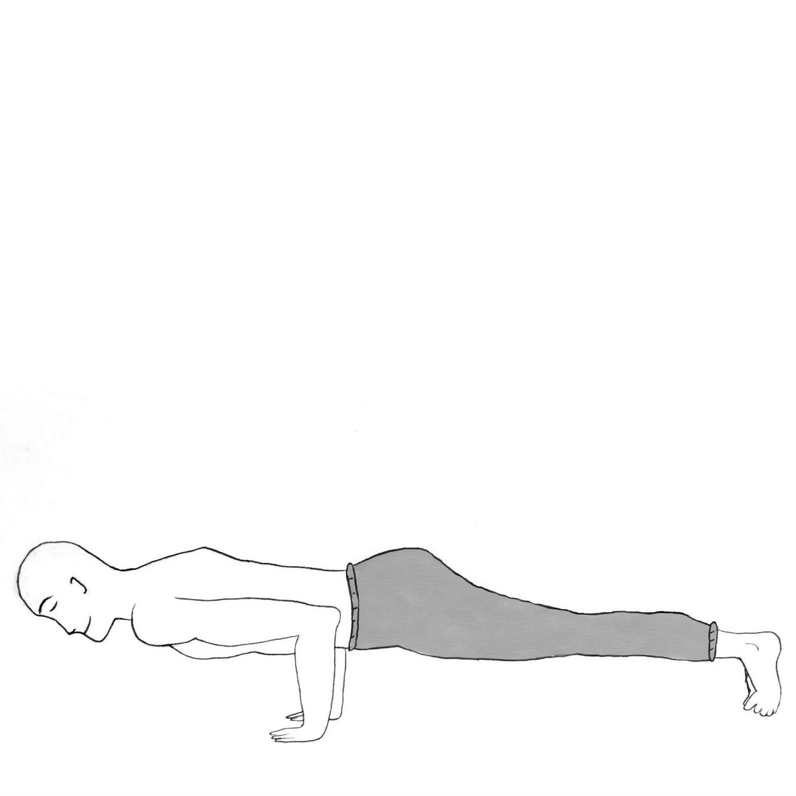 Low Plank - Chaturanga Dandasana