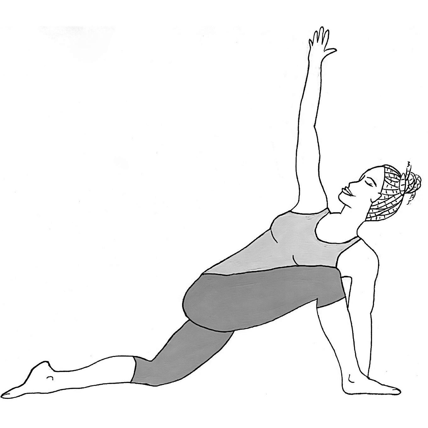 Revolved Low Lunge - Parivritta Anjaneyasana