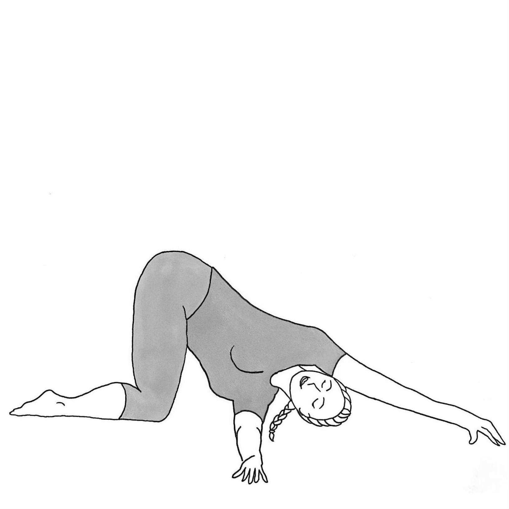 Thread the Needle - Parsva Balasana