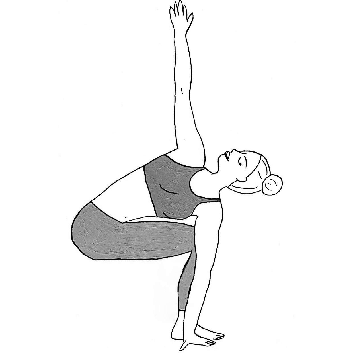 Twisted Chair Pose - Parivritta Utkatasana