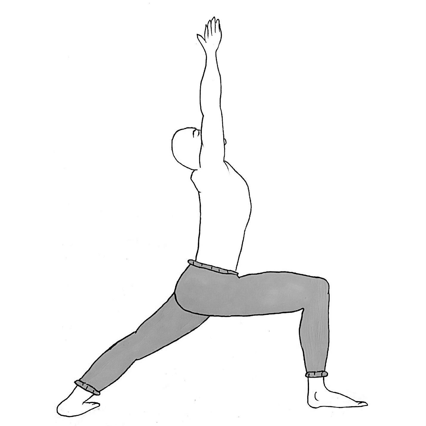 Warrior 1 - Virabhadrasana A