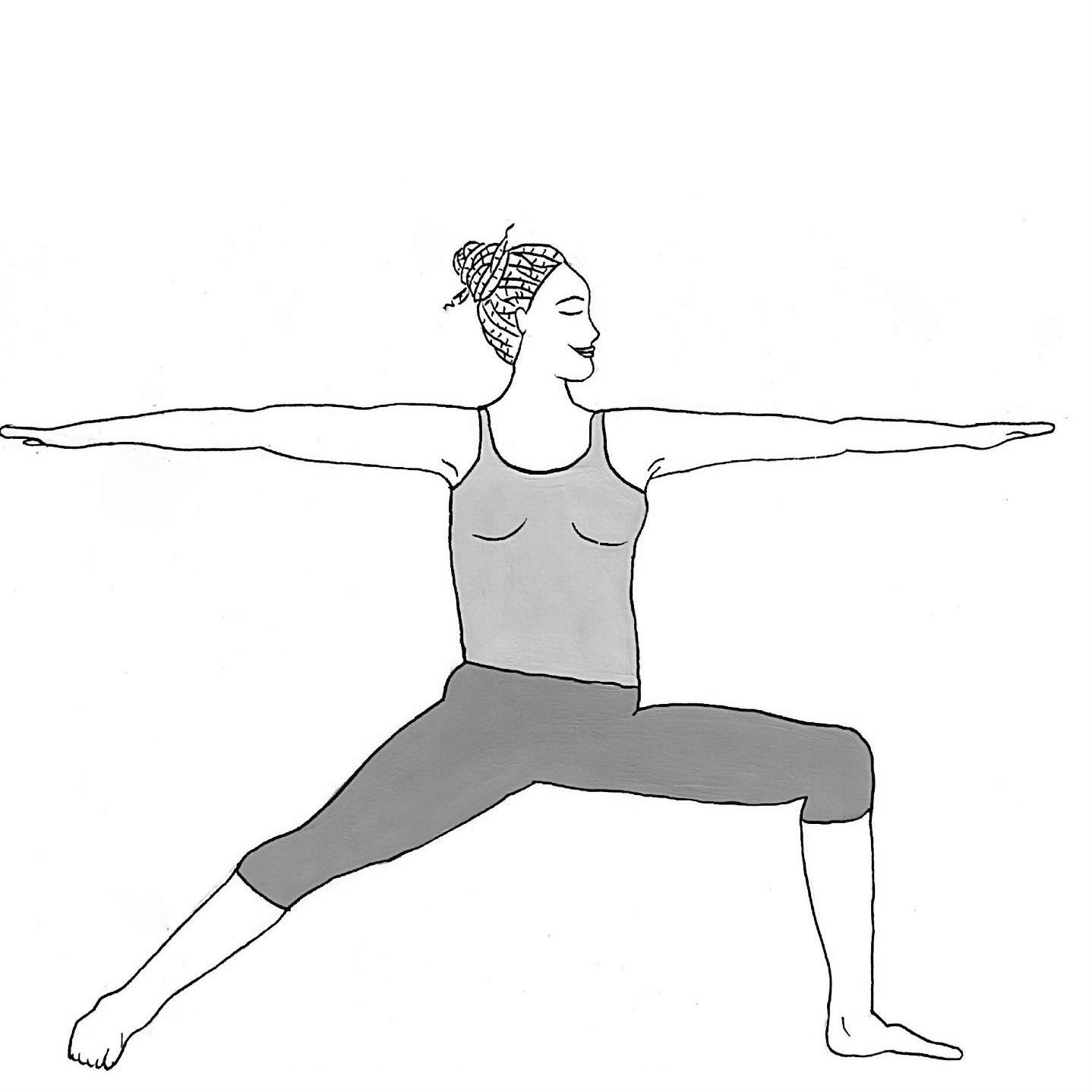 Warrior 2 - Virabhadrasana B