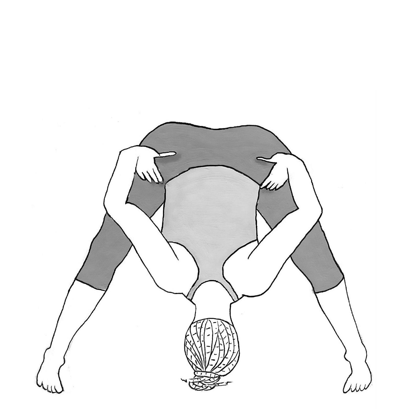 Wide-legged Forward Bend B - Prasarita Padottanasana B