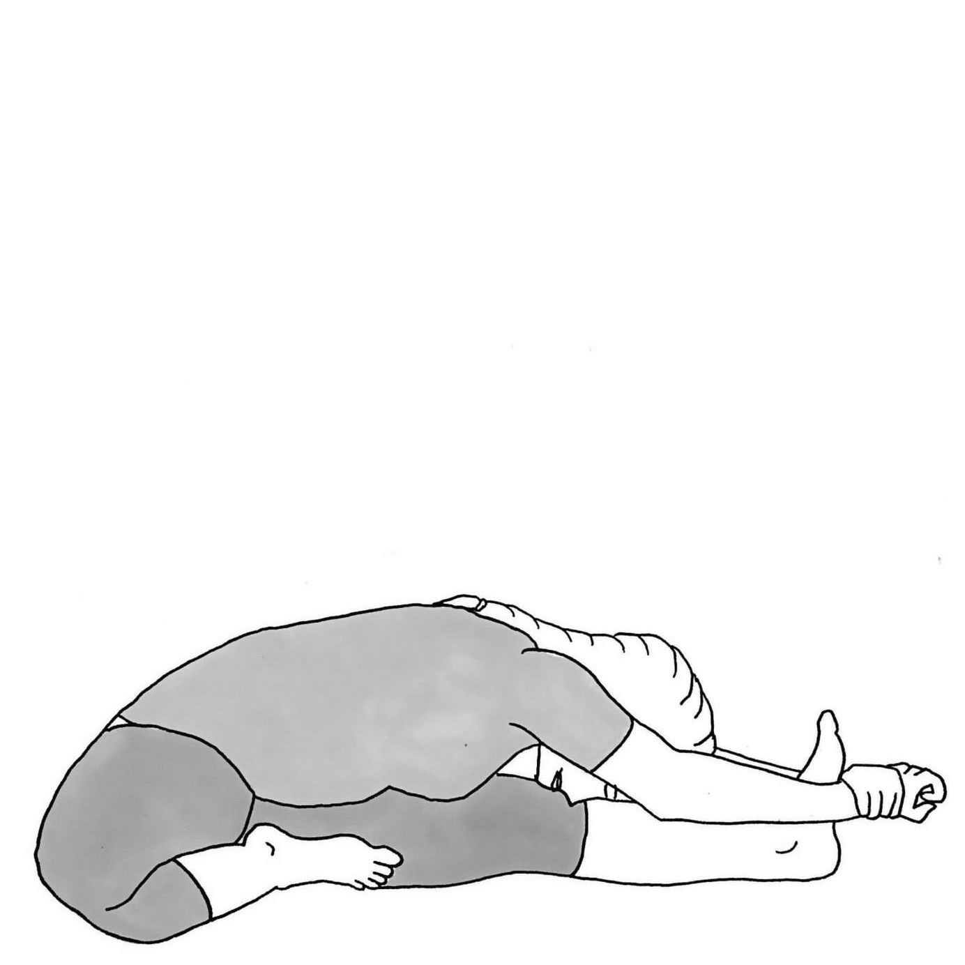Head to Knee Pose A - Janu Sirsasana A