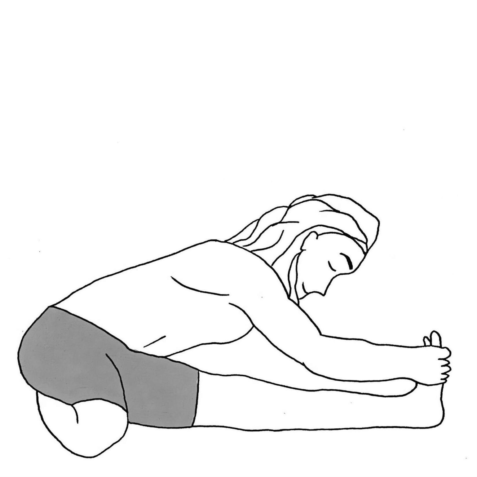 Head to Knee Pose B - Janu Sirsasana B