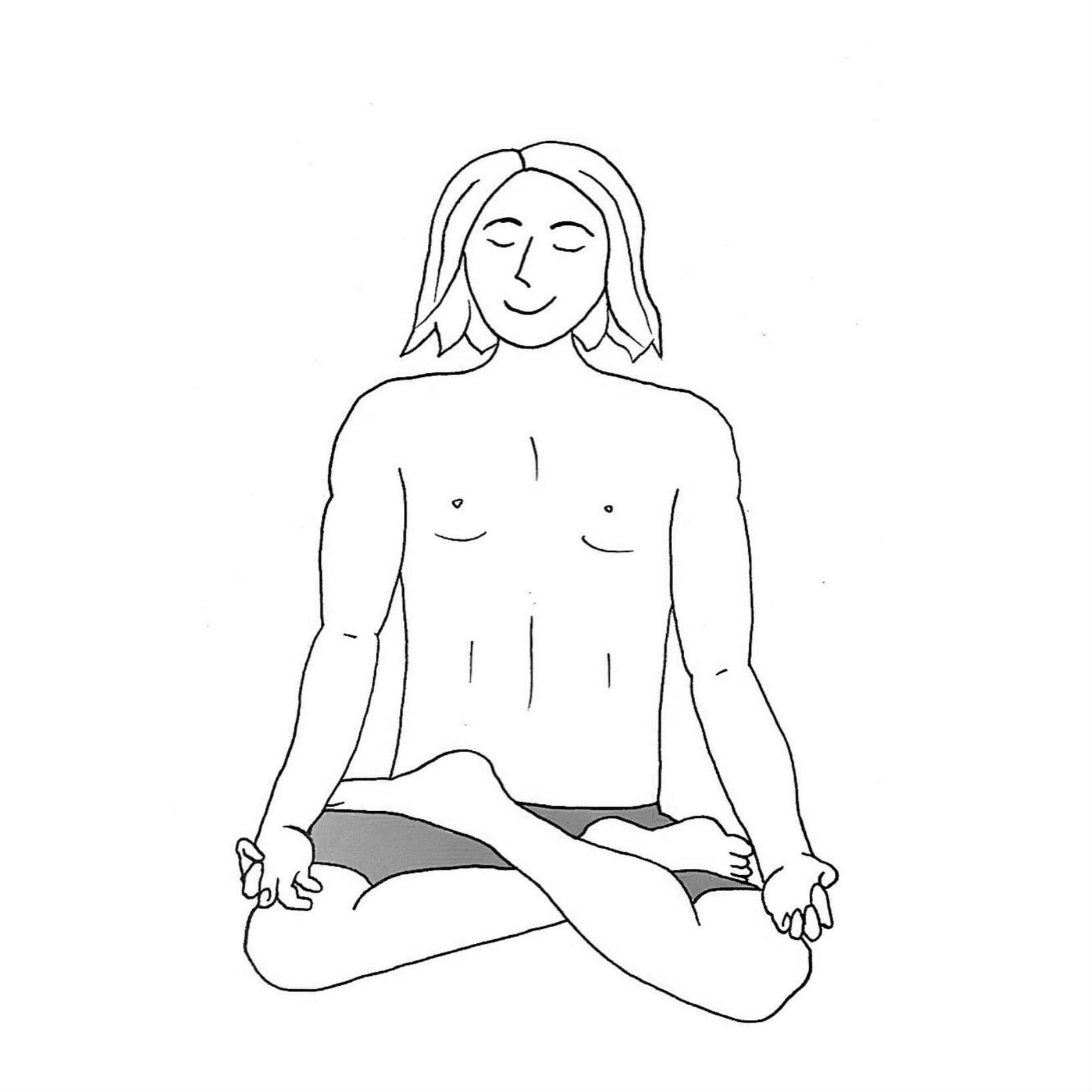 Lotus Pose New - Padmasana