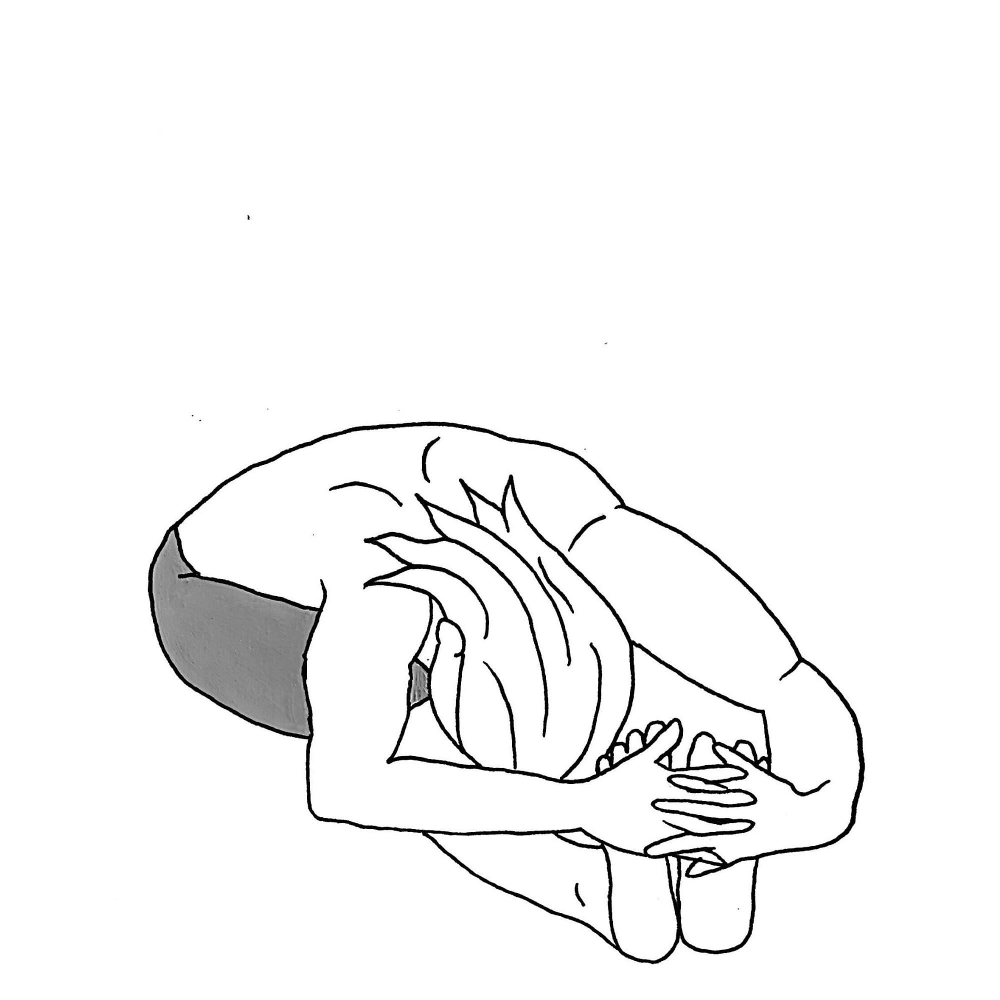 Seated Forward Fold - Pachimottanasana