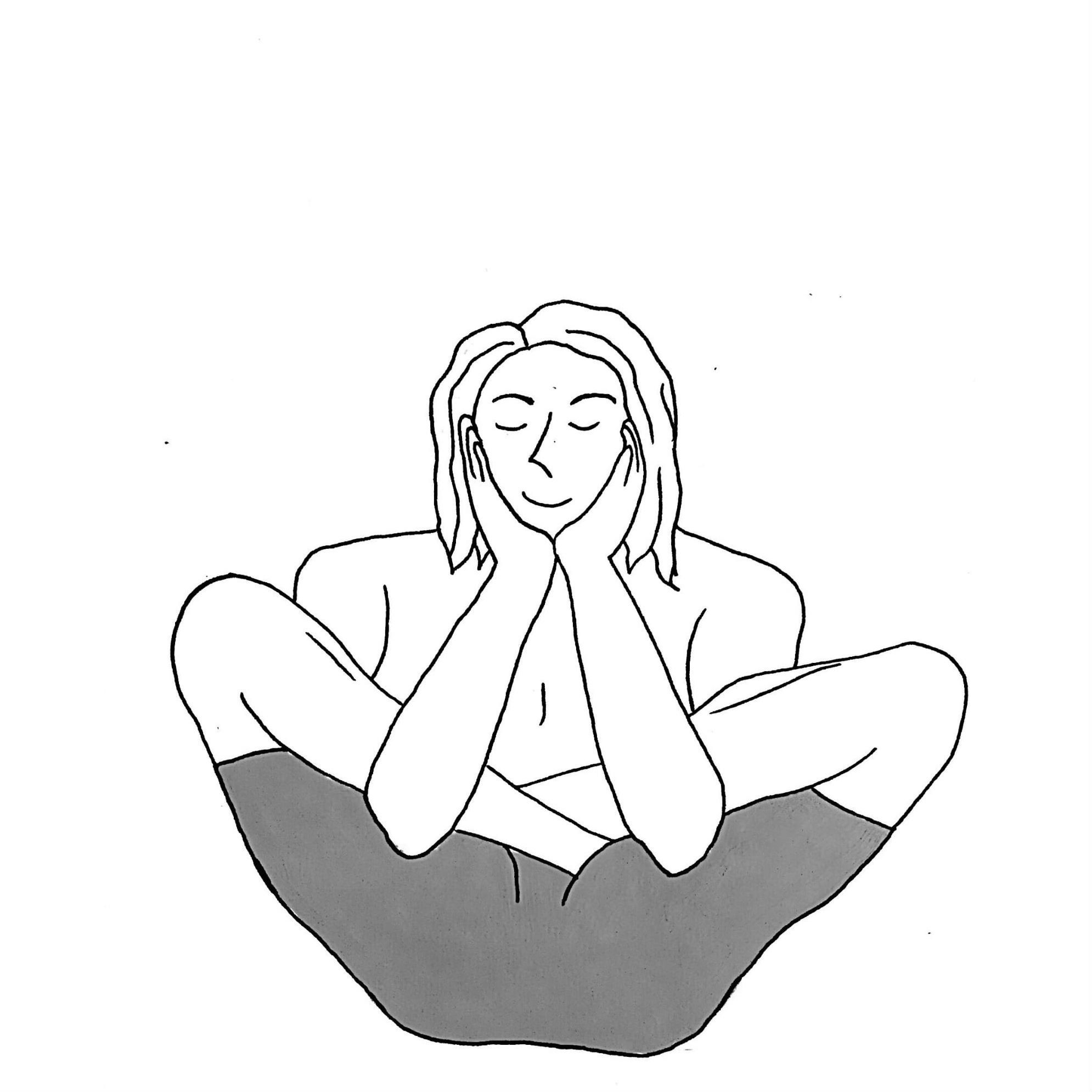 Womb Embryo Pose - Garbha Pindasana
