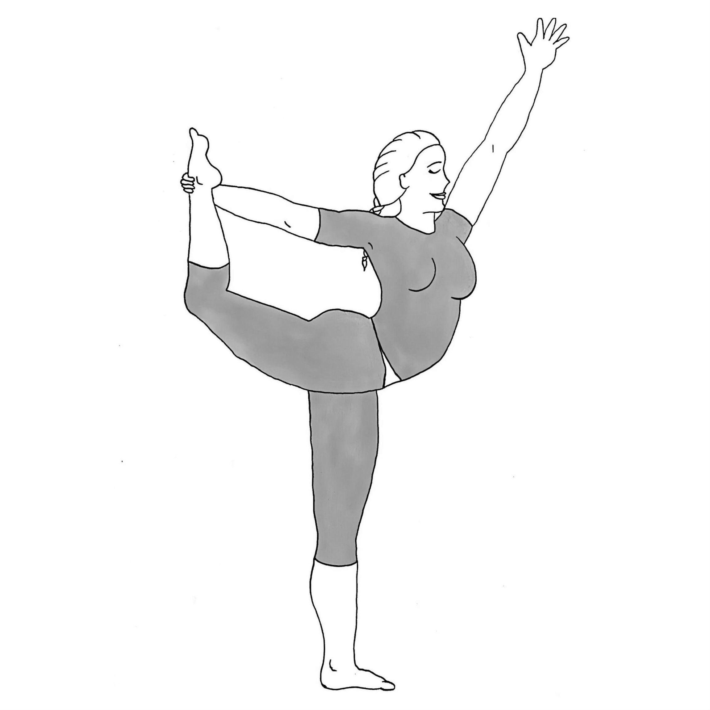 Dancer's Pose - Natarajasana