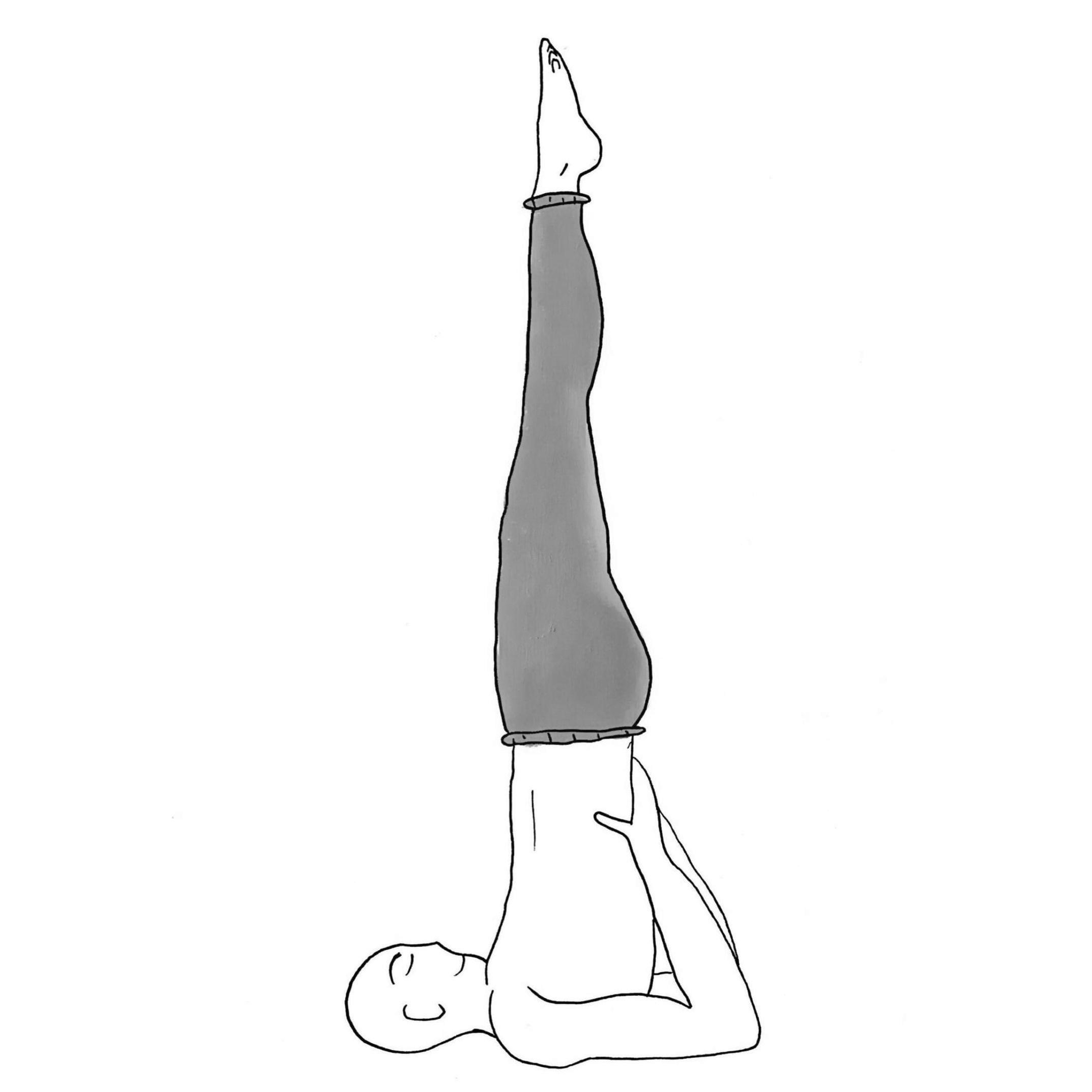Shoulder Stand - Sarvangasana