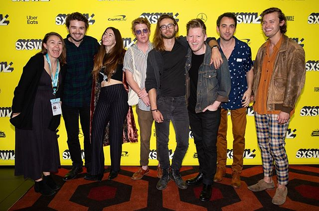 Some of our very tired, hungover cast and crew at @sxsw. We miss it terribly.