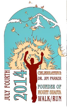 Designed by local artist Nadine Aiello as a special tribute to Dr. Jim Parker