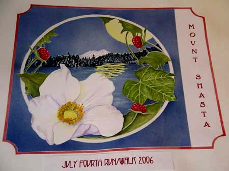 2006 Rebus Parviflorus flower designed by Janette Brown of Mt. Shasta